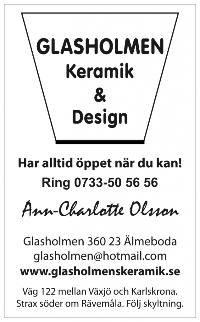 Glasholmen Keramik_visitkort2015